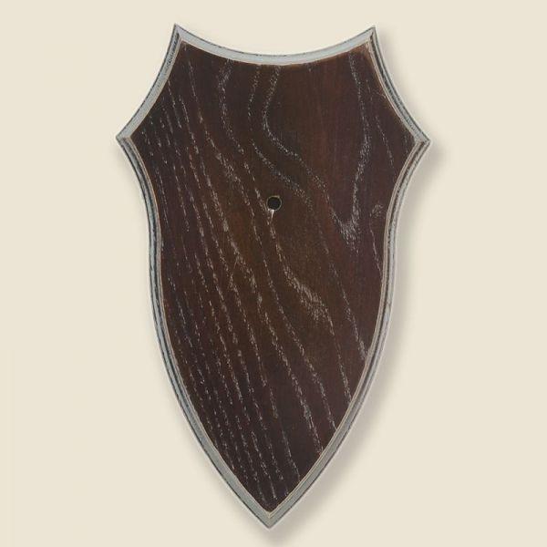 Bild Gehörnbrettchen Eiche dunkel 21x12cm